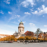 French Cathedral on Gendarmenmarkt Royalty Free Stock Photos