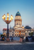 French Cathedral on Gendarmenmarkt, Berlin Royalty Free Stock Image