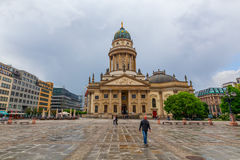 French Cathedral at Gendarmenmarkt, Berlin Royalty Free Stock Images