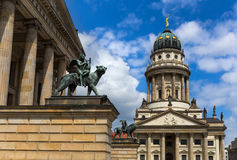 French Cathedral at the Gendarmenmarkt in Berlin Royalty Free Stock Photo
