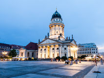 French Cathedral in Gendarmenmarkt, a famous square in Berlin Stock Photo