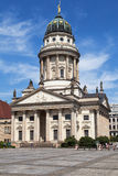 French Cathedral in Gendarmenmarkt Square Stock Image