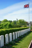 French Cemetery British Graves Royalty Free Stock Images