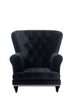 French Chair Black. French Chair or Sofa Stock Photography