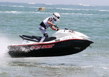 The French championship of superjet 2009 stock images