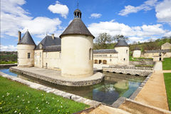 French Chateau of Bussy Rabutin Royalty Free Stock Images