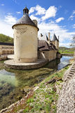 French Chateau of Bussy Rabutin Stock Images
