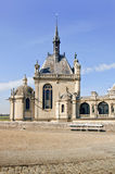 French chateau Chantilly Royalty Free Stock Photography