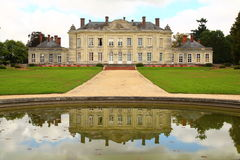French Chateau at Craon Stock Images