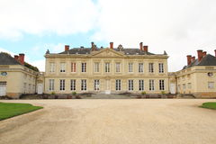 French Chateau at Craon Royalty Free Stock Photo