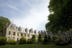 French chateau Stock Images