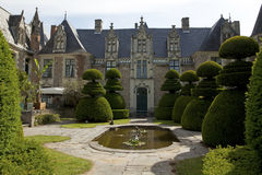 French chateau Royalty Free Stock Images