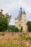 French Chateau tower Stock Photos