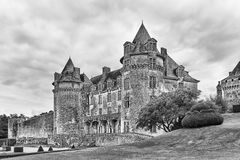 French chatuaux Royalty Free Stock Images