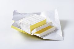 French cheese Carr� de l'Est Royalty Free Stock Image