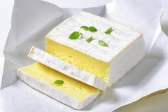 French cheese Carr� de l'Est Stock Photos