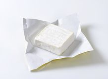 French cheese Carr� de l'Est Royalty Free Stock Images