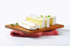 French cheese Carr� de l'Est Stock Photography