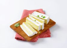 French cheese Carr� de l'Est Royalty Free Stock Photo