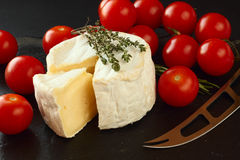 French cheese Stock Image