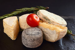 French cheese Royalty Free Stock Image