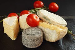 French cheese Stock Photography