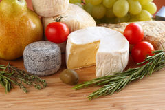 French cheese Royalty Free Stock Photo