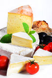 French Cheese Delicatessen Stock Images