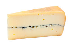 French cheese - Morbier Royalty Free Stock Images
