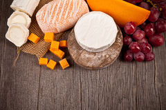 French cheeses Royalty Free Stock Photos