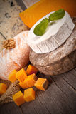 French cheeses Stock Image