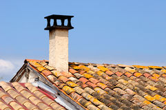French chimney. Stock Photos