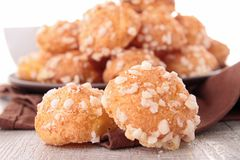 French choux pastry Royalty Free Stock Image