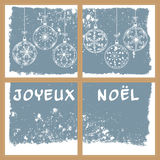 French christmas background Royalty Free Stock Photography