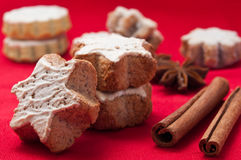 French christmas Bakery Royalty Free Stock Photos