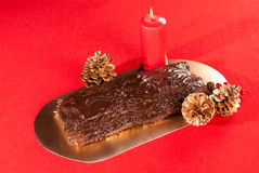 French Christmas cake Stock Photos