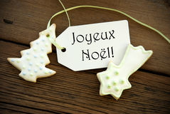 French Christmas Greetings Royalty Free Stock Photos