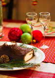 French Christmas Table Stock Photo
