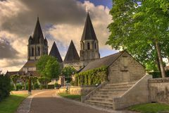 French church Stock Image