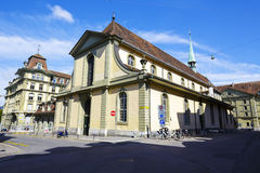 The French Church in Bern in Switzerland Royalty Free Stock Photography