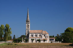 French church. A church in France Stock Images