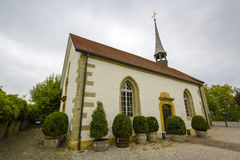 The French Church in Morat also called Murten Royalty Free Stock Photography
