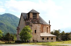 French church of Saint-Louis in Mont-Dauphin Stock Images