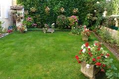 French classical garden Royalty Free Stock Photos