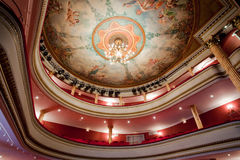 French classical theater Royalty Free Stock Photography