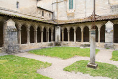 French cloister Royalty Free Stock Photography