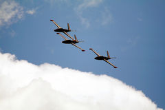 French CM170 jets Royalty Free Stock Photography