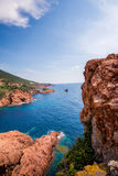 French coast. royalty free stock image