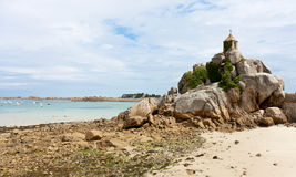 French coast of Brtitany Royalty Free Stock Photography