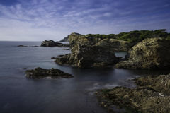 French coast. Royalty Free Stock Images